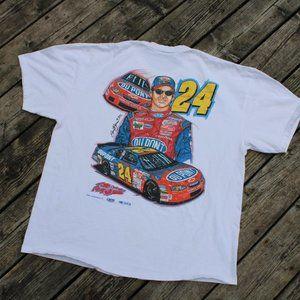 Vintage Dale NASCAR T-Shirt / 90s Racing Tee